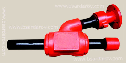 Flushing swivels type of ВП-50 and ВП-80